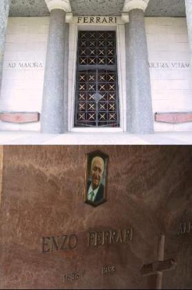Mausoleo de la familia Ferrari.