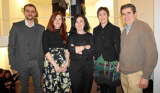 Llorenç Carrió, Ana Cabello, Bel Font, Francisca Niell y Antoni Sansó.