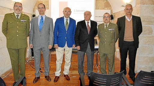 Joan Ramis, Guillermo Landa, Rafel Xamena, Guillermo Monserrat, Jaume Sastre y Eduardo Gutiérrez de Rubalcava.