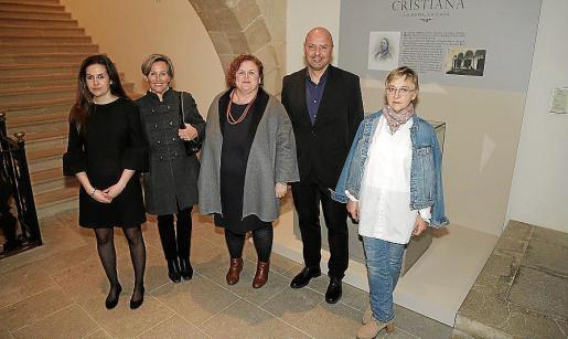 Marina Marqués, Magdalena Quiroga, Ruth Mateu, Jaume Gomila y Joana Maria Palou.