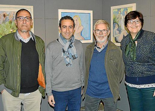 Andreu Aguiló, Miquel Àngel Sureda, Toni Marquet y Aina Aguiló.