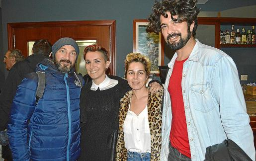Gerard Masagué, Bel Olid, Laia Martinez y Jaume Reus.