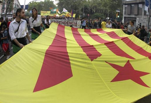 Se incrementa ligeramente el 'no' a la independencia, según el último sondeo de la Generalitat.