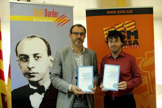 Biel Barceló y Jaume Garau.