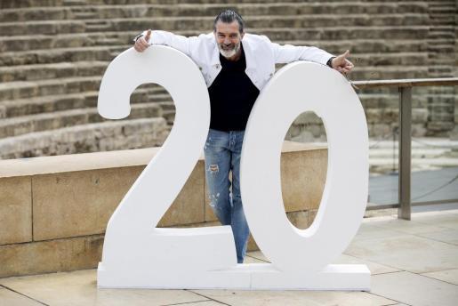 El actor malagueño, recientemente reconocido en su Málaga natal, en la vigésima edición del Festival de Cine de la capital andaluza.
