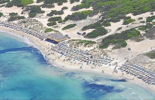 Es Trenc fue declarada área natural en 1984 y en 2012 el Govern balear acordó el pago de una indemnización de 884.596 euros.