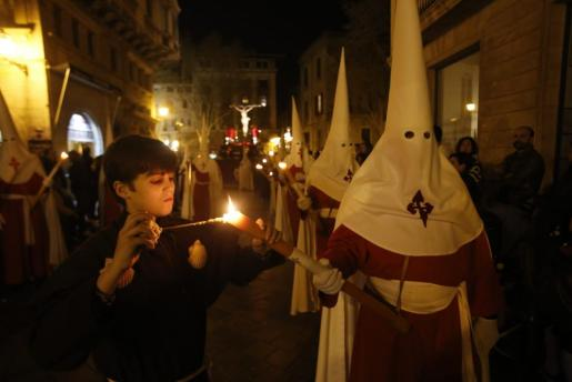 Imagen de archivo de una procesión en Palma.