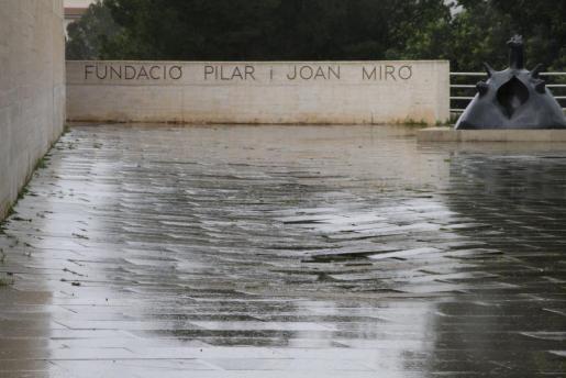 El Edificio Moneo acoge la sede de la Fundació Pilar i Joan Miró en Mallorca.