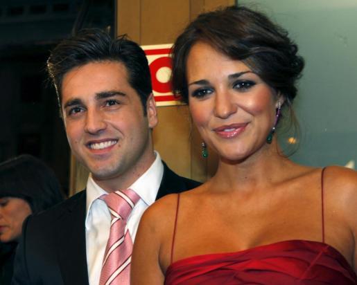 La actriz Paula Echevarria y el cantante David Bustamante, en una imagen de archivo.