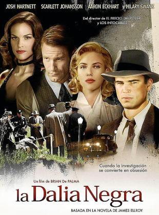 Cartel del film 'La dàlia negra'.