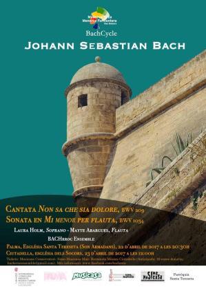 El BachCycle llega a la Esglèsia de Santa Tereseta de Palma para ofrecer un nuevo concierto.