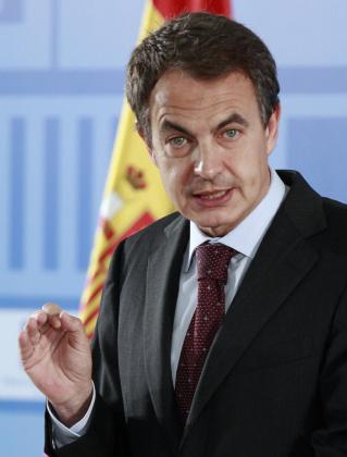 Jose Luis Rodríguez Zapatero, presidente del Gobierno.
