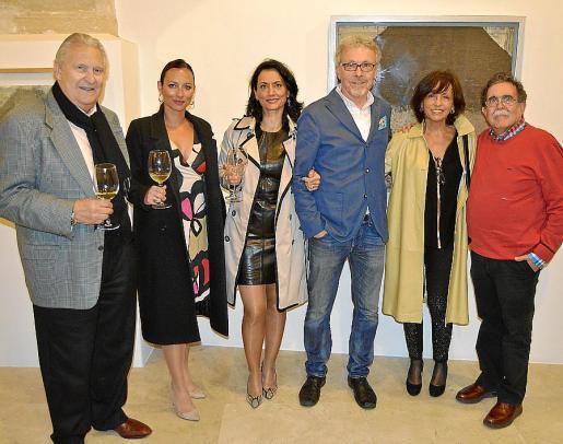 Pep Sans, Marina Calero, Pilar Ollers, Luis Maraver, Joana Mir y Tolo Albertí.