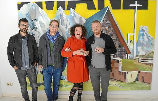 Nauset Mayor, Tomàs Pizà, Mariana Sarraute y Christian Hoel.