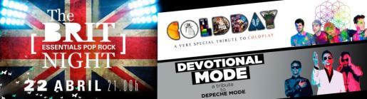Coldday y Devotional Mode llegan a Trui Teatre para ofrecer un concierto homenaje a Coldplay y Depeche Mode.