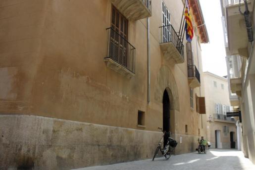 Sede de la Conselleria de Turisme en la calle Montenegro de Palma.