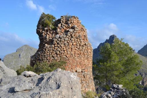 La torre de sa Calobra, en el municipio de Escorca.