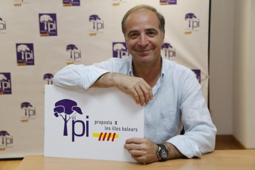 El líder del PI Palma, Toni Fuster.