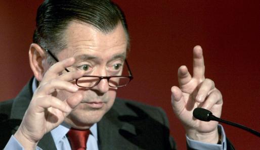 Fotografía de archivo del actual consejero delegado del Banco Santander, Alfredo Sáenz.