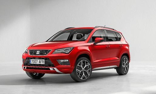 SEAT Ateca FR, la última incorporación a la gama del SUV compacto español con un toque deportivo.