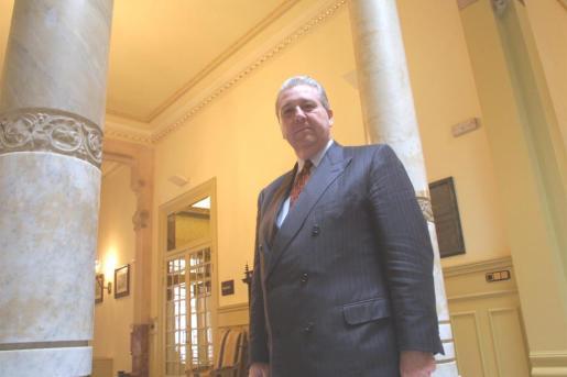 Imagen del expresidente del Parlament por Unió Mallorquina.