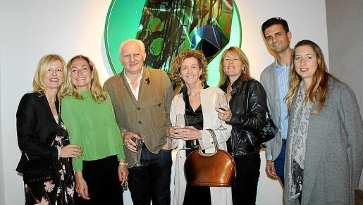 Helen Cummins, Francesca Martí, Ivan Levy, María José Barceló, Antonia Claverol, Estanis Planas y Teresa Mier.