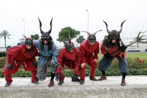 El AtiarFoc de este año ha sido presentado esta mañana en el Parc de la Mar de Palma.