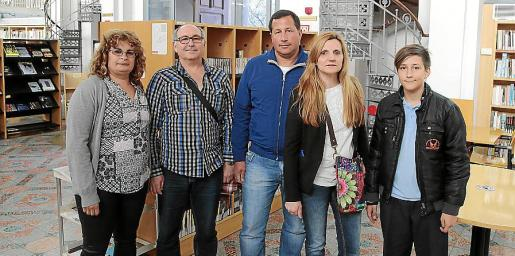 Silvia Alonso, Miguel Martínez, Raúl Cruz, Gabriela Luliano, y Antoni Cruz.