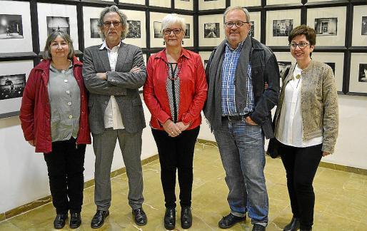 Dolors Pérez, Pepe Cañabate, Magdalena Moyà, Toni Torres y Pilar Riera.
