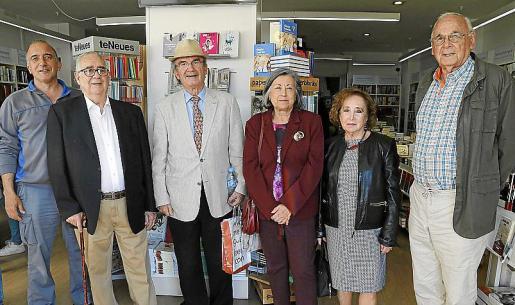Rafael Durán, Andrés Barceló, Juan José Valle , Maite Cifuentes, Maria Paz Ordinas y Julián Delgado.