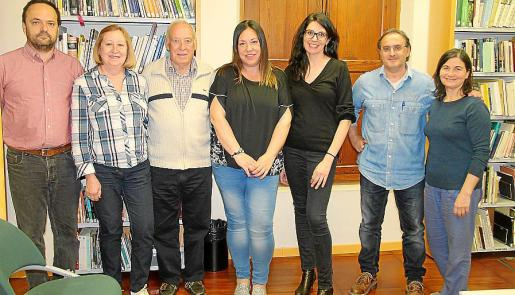 Mateu Ramón, Francisca Pons, Jaime Dols, Joana Dols, Gemma Marchena, Rafel Oliver y Miquela Pérez.