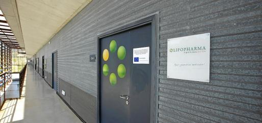Sede de la empresa Lipopharma, derivada de la UIB, en uno de los locales del Parc Bit.