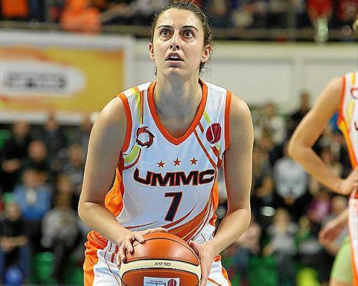 La jugadora mallorquina del Ekaterimburgo, Alba Torrens.