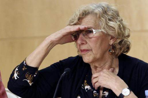 Imagen de archivo de la alcaldesa de Madrid.