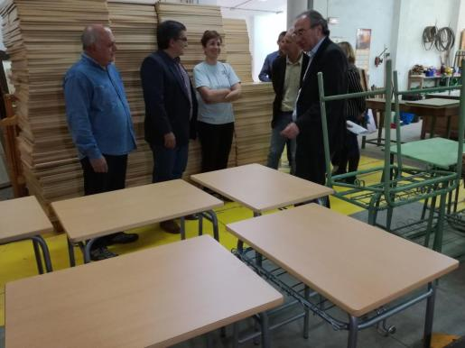 Visita al centro de la Fundació Deixalles en Sóller.