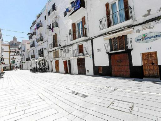 Imagen de la calle Emili Pou, en la Marina de Vila. Foto: D. E.