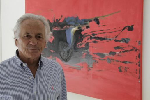 Palomo Linares expuso en la Galería Vanrell de Palma.