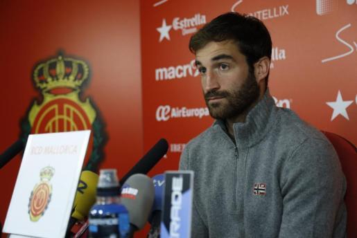 En la imagen, el jugador del RCD Mallorca, Eduard Campabadal.