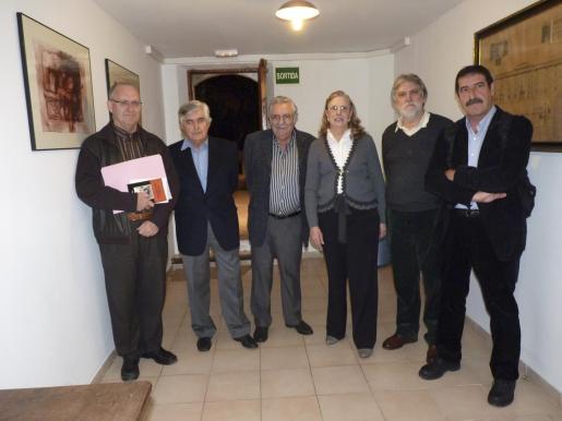 Sebastià Serra, Pedro Prieto, Pere A. Serra, Catalina y Climent Picornell y Joan Torres.