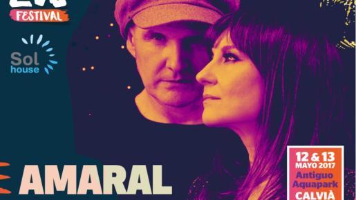 El Mallorca Live Festival cuenta con una fuerte presencia nacional con, por ejemplo, Amaral.