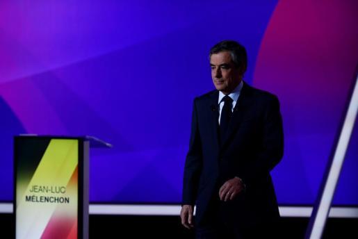 El candidato a las elecciones presidenciales francesas por el partido Les Republicains (LR) Francois Fillon.