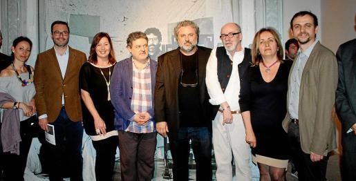 Marga Viza, José Hila, Francina Armengol, Antoni Garau, Miguel Bezares, Alain D' Hoogue, Fanny Tur y Llorenç Carrió.