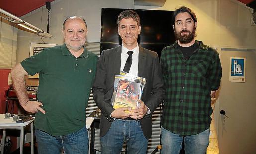 Javier de Castro, Francesc Vicens y Tomey Canyelles. Fotos: Miquel À. Cañellas