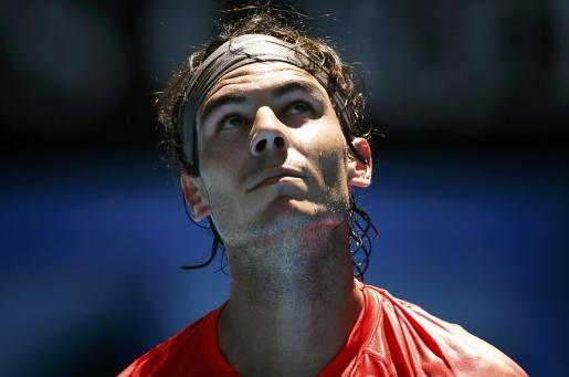 El tenista manacorí durante su último partido.