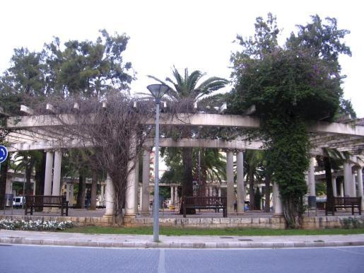 Los hechos ocurrieron en la plaza de las Columnas de Palma.