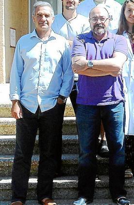 Xavier Busquets y Pablo Vicente Escribá.
