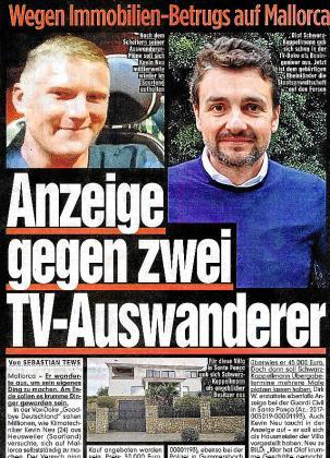 El periódico alemán 'Bild' informó ayer del caso.