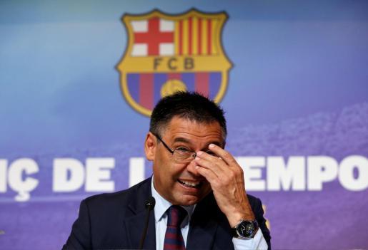 El presidente del FC Barcelona, en una imagen de archivo.