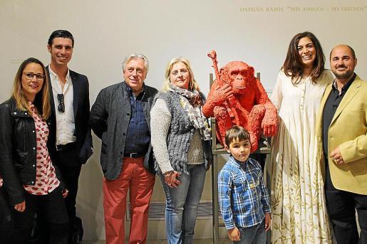 Ainhoa Ferrer, Sergio Saldaña, Damià Ramis, Cati Gelabert Niell, Laila de la Torre, Roberto y Juan Ferrer.