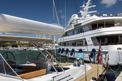 Los mejores astilleros del Mediterráneo presentan sus novedades en el Salón Náutico Internacional de Palma.